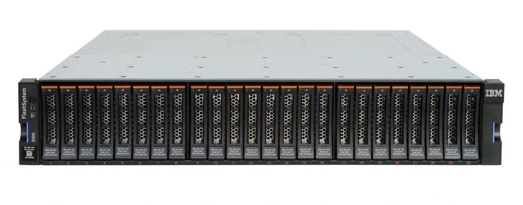 Die IBM FlashSystem 5000-Modelle sind für datenintensive Anwendungen konzipiert.